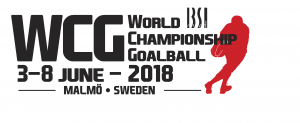 World Championship Goalball 2018 Logo