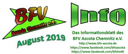 BFV Info August 2019