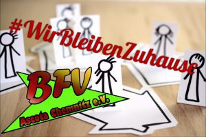 Wir Bleiben Zuhause based on an image by pixabay.com