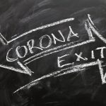 Symbol Corona Exit