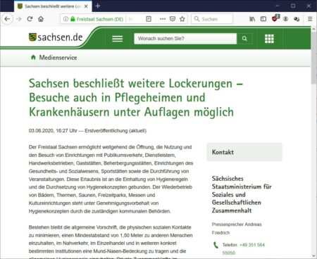 Screenshot medienservice.sachsen.de